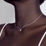 Jewel: necklace black golden label foto 1